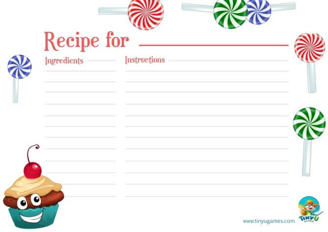 Recipe card promo
