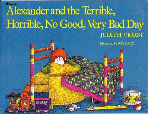 Alexander and the no good terrible bad day