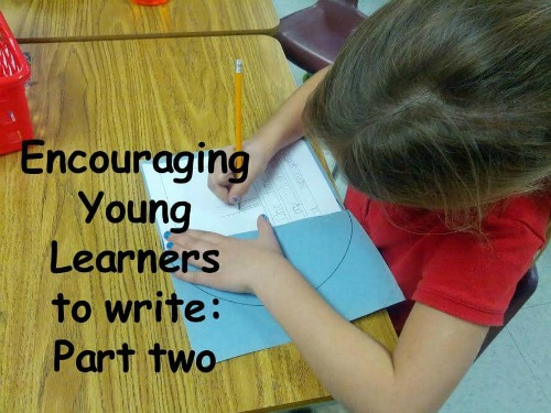 Encouraging Young Learners to Write (1)