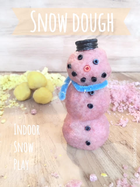 Scented Colourful Snow Dough