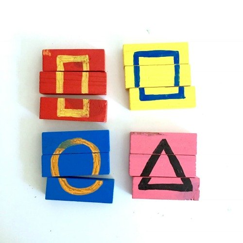shape-puzzles-from-wooden-building-blocks