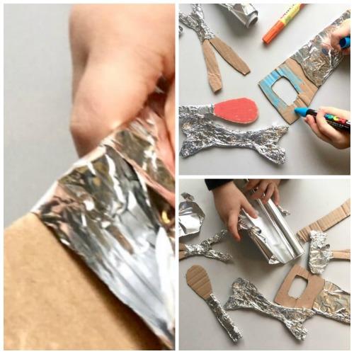 tools-from-aluminium-foil