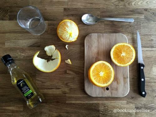 DIY Orange Candle